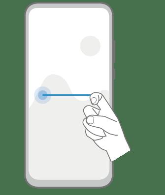 Knuckle Gestures - Split screen