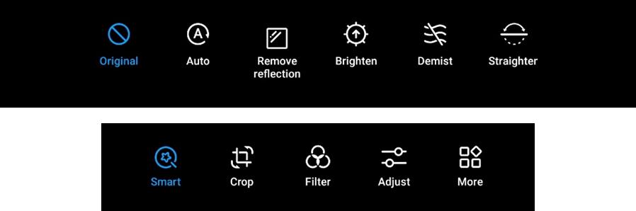 New tool for photo editing - Huawei EMUI 10.1