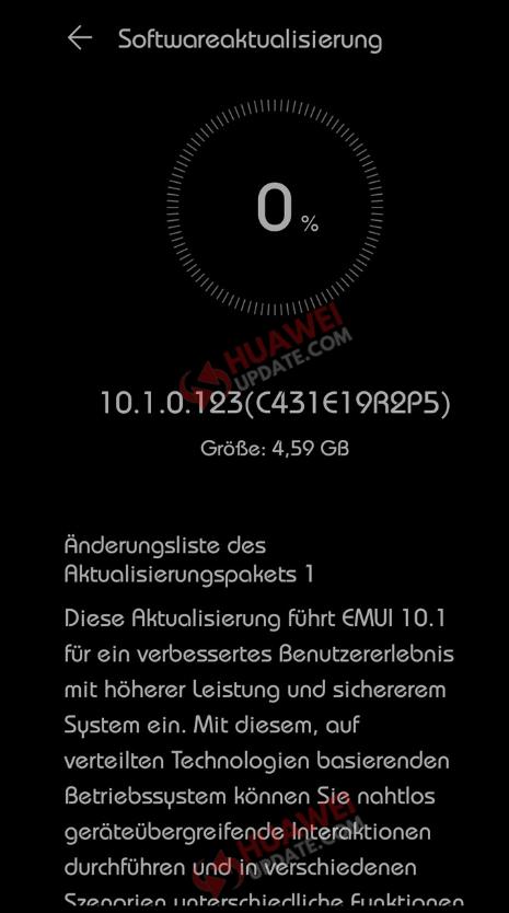P30 Pro EMUI 10.1 Germany