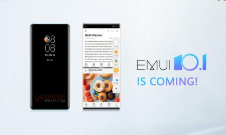 Huawei EMUI 10.1 2020 schedule