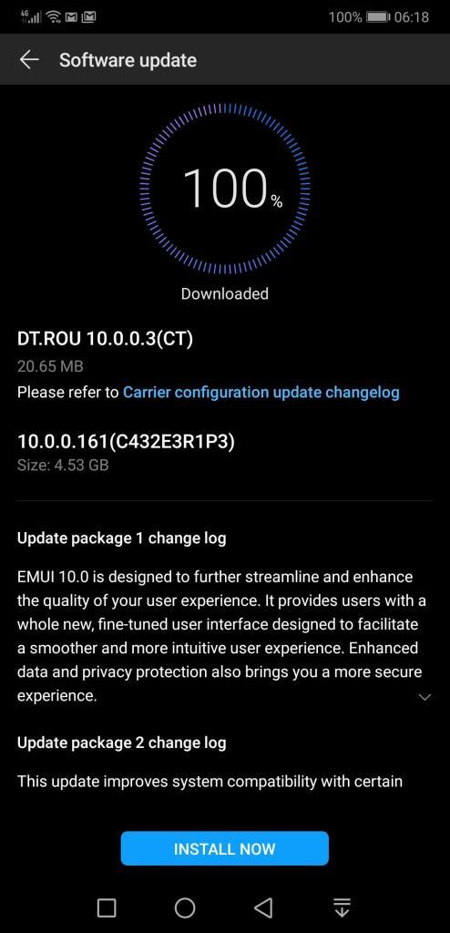 Huawei P20 Pro EMUI 10 Romania