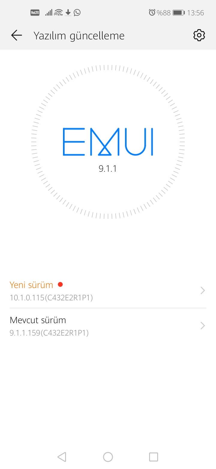 Huawei P40 Lite E EMUI 10.1 Turkey