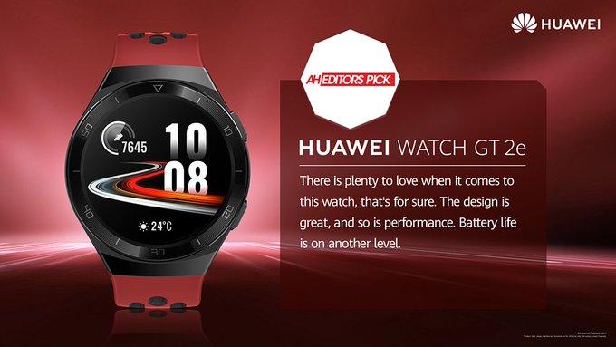 Huawei Watch GT 2e Review - AH Editors Pick