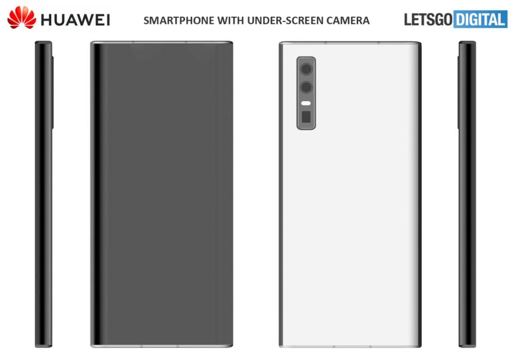 Huawei's under-screen camera phone patent leaked