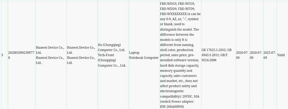 Huawei Gaming laptop