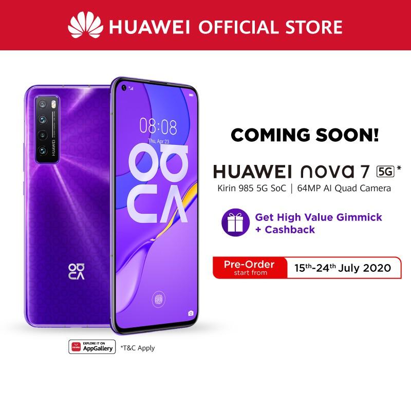 Huawei Nova 7 Indonesia