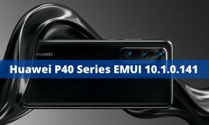 Huawei P40 Series EMUI 10.1.0.141