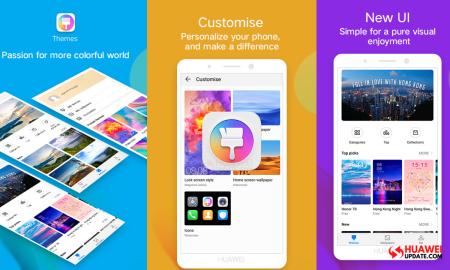 Huawei Themes App