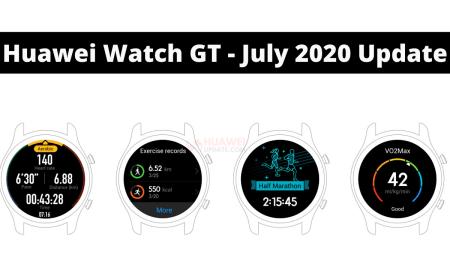 Huawei Watch GT - July 2020