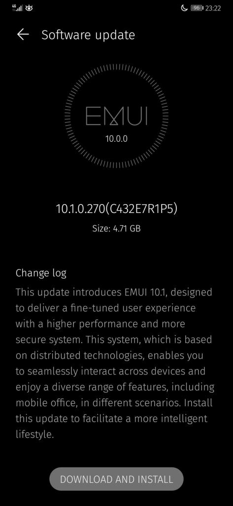 Mate 20 Pro EMUI 10.1 UK