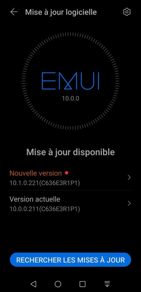 Nova 5T EMUI 10.1 france