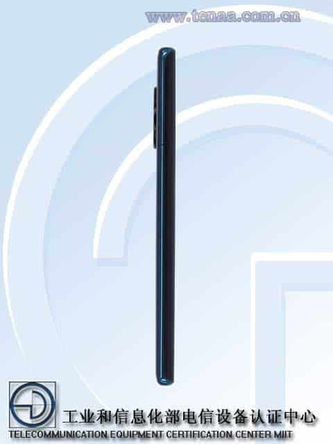 Huawei's new 5G phone - TENAA