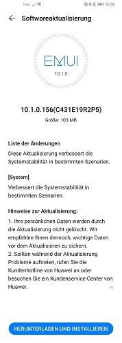Huawei P30 Pro NE EMUI 10.1.0.156