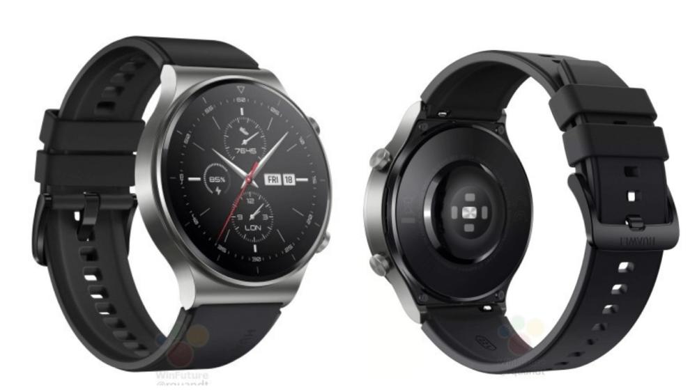 Huawei Watch GT2 Pro render
