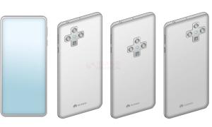 Huawei patents in display camera