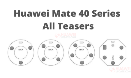 Huawei Mate 40 Series All Teasers