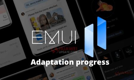 EMUI 11 and Magic UI 4.0 adaptation progress