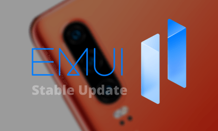 Huawei P30 Series EMUI 11 stable update