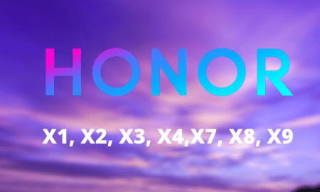 Honor X series patent
