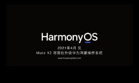 Harmony OS April 2021