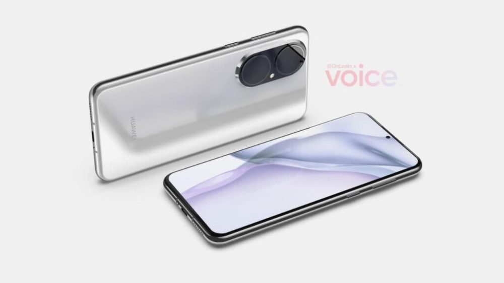 Huawei-P50-render