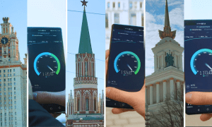 5G networks in Moscow