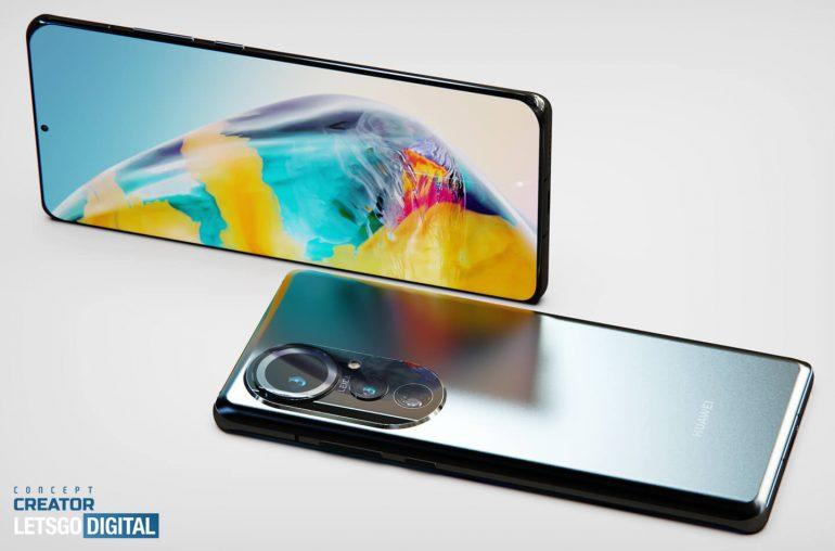 Huawei P50 Pro render - 2
