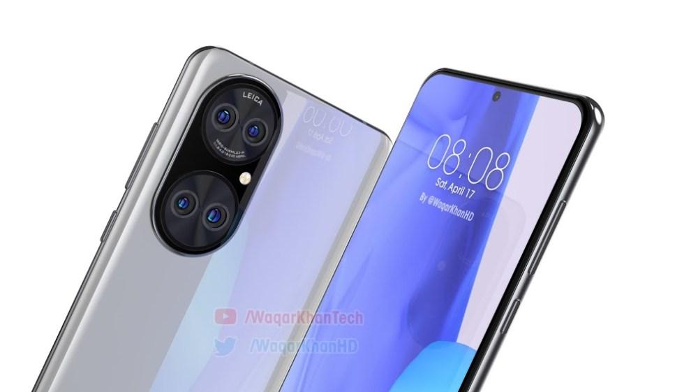 Huawei P50 new render -3