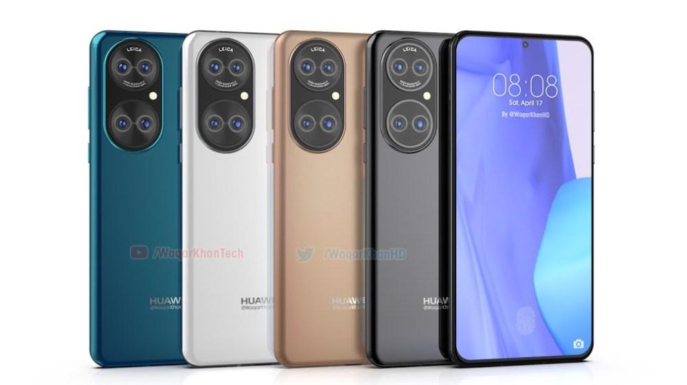 Huawei P50 new render -9