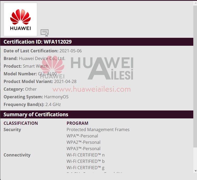 HarmonyOS powered Huawei Watch 3