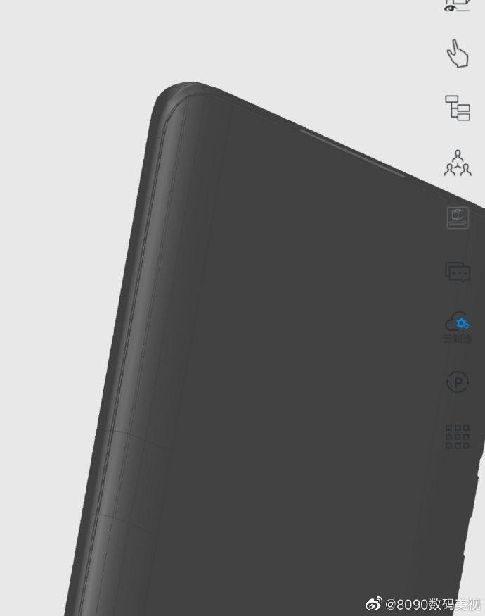 Huawei P50 Pro 3D model