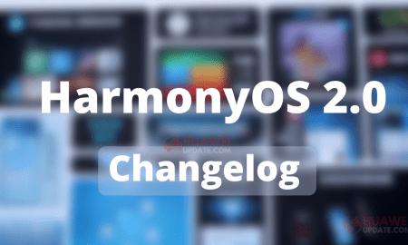 HarmonyOS 2.0 Changelog