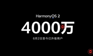HarmonyOS 40 million users