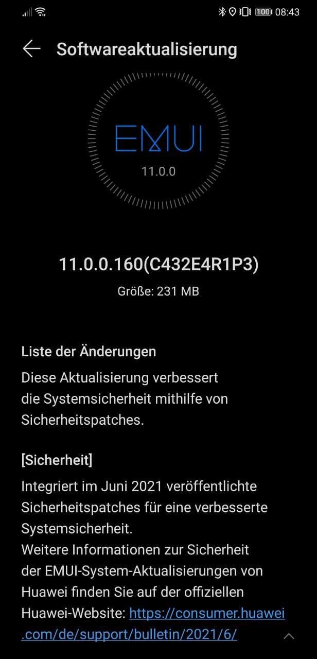 Huawei Mate 20 HMA-L29 11.0.0.160