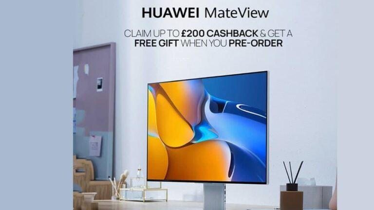 Huawei MateView UK