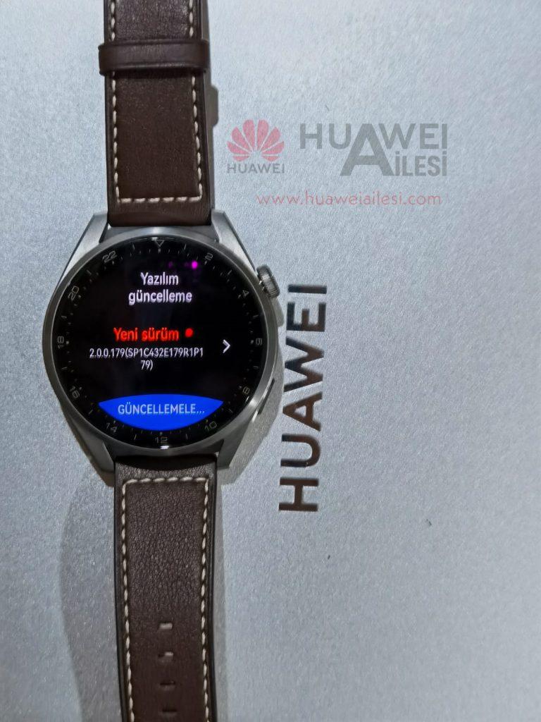 Huawei Watch 3 and Watch 3 Pro HarmonyOS 2.0.0.179