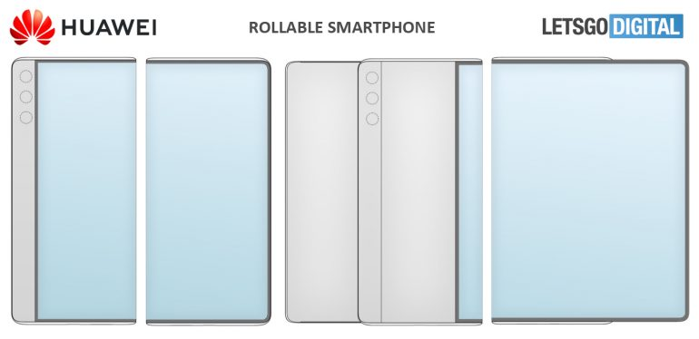 Huawei rollable phone patent-1