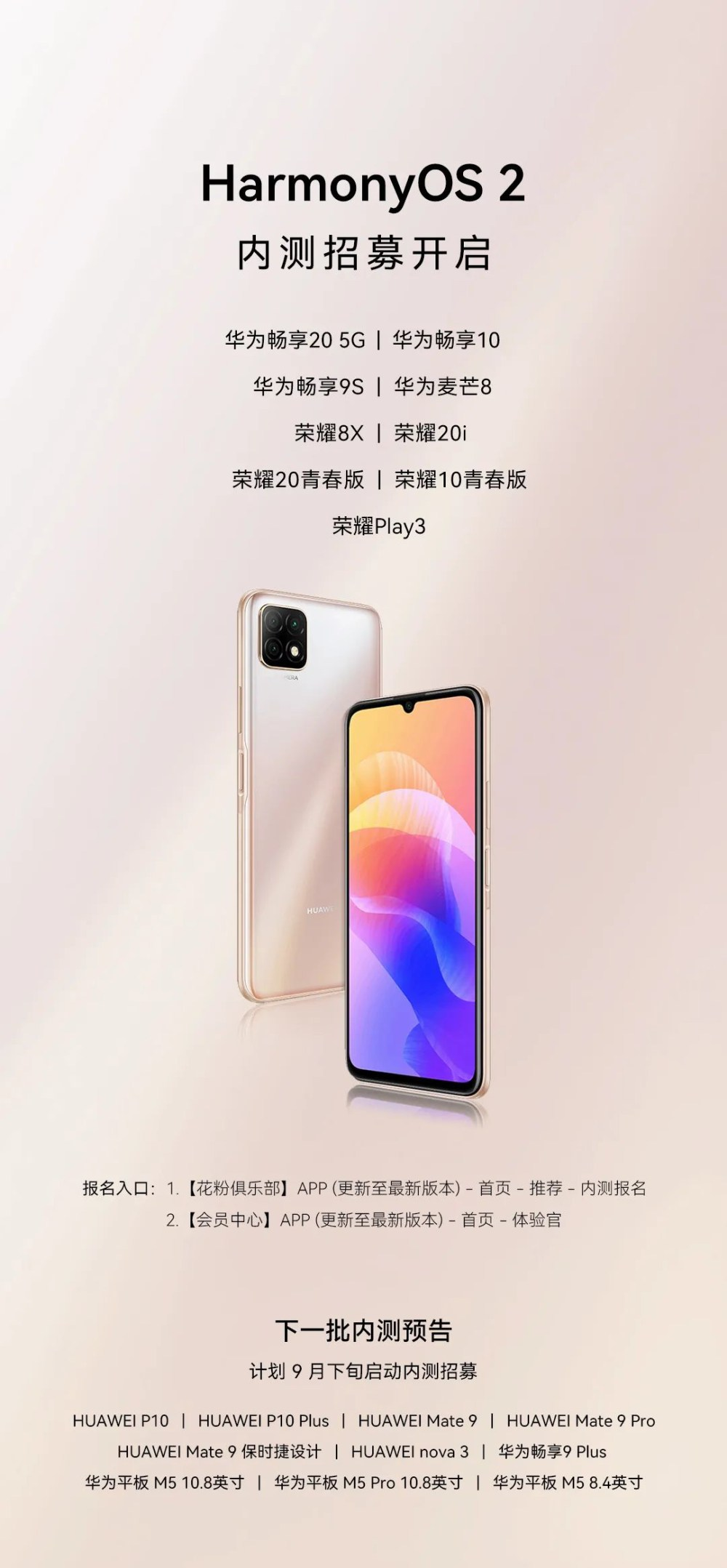 106 Huawei phones now a part of HarmonyOS operating system