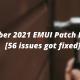56 issues got fixed