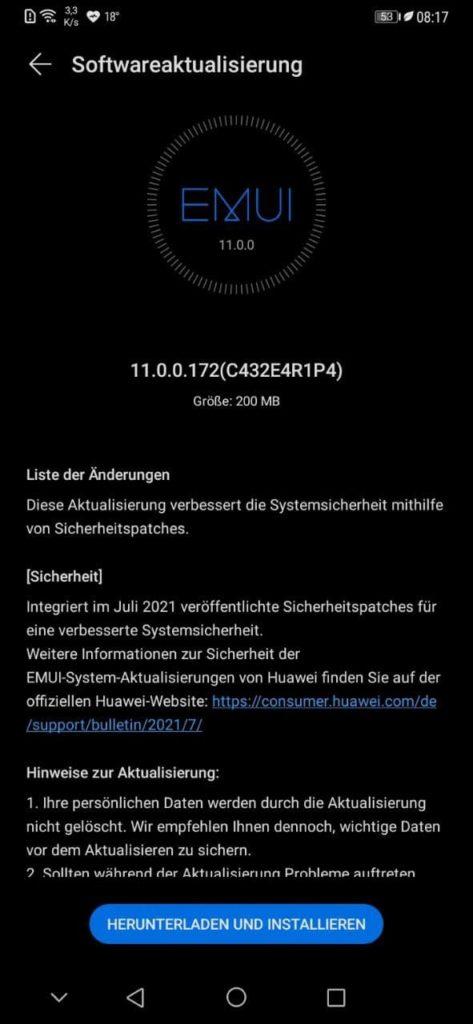 Huawei Mate 20 Pro LYA-L29 11.0.0.172