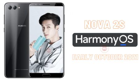 Nova 2S HarmonyOS 2021