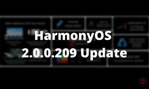 HarmonyOS 2.0.0.209 Update