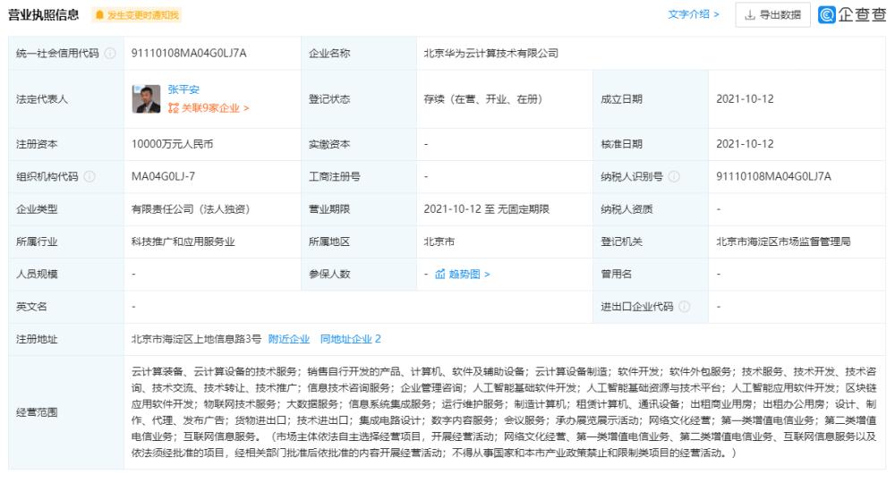 Huawei Cloud Computing-1