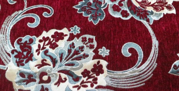 Sofa Fabric Upholstery Fabric Curtain Fabric Manufacturer Red And
