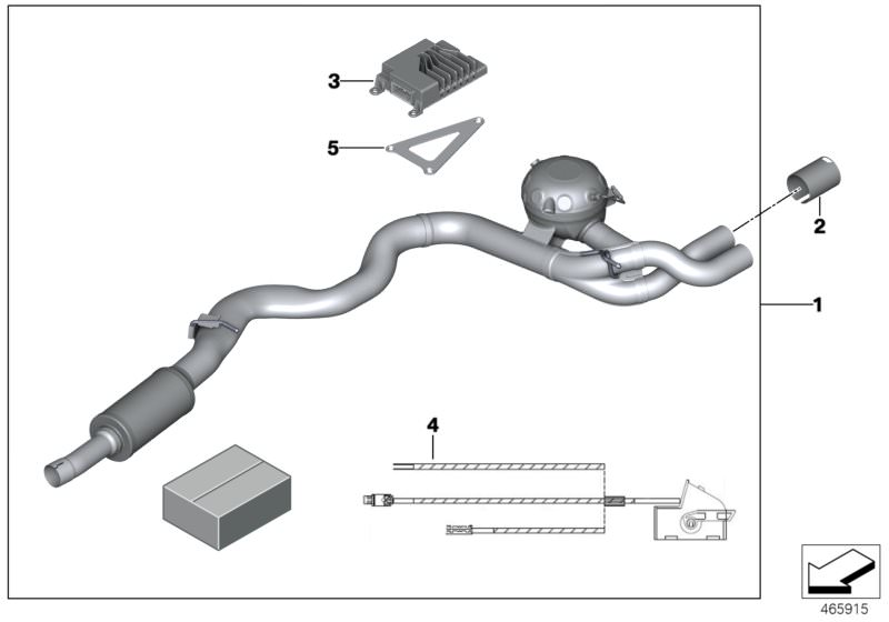exhaust system diesel fuel m performance