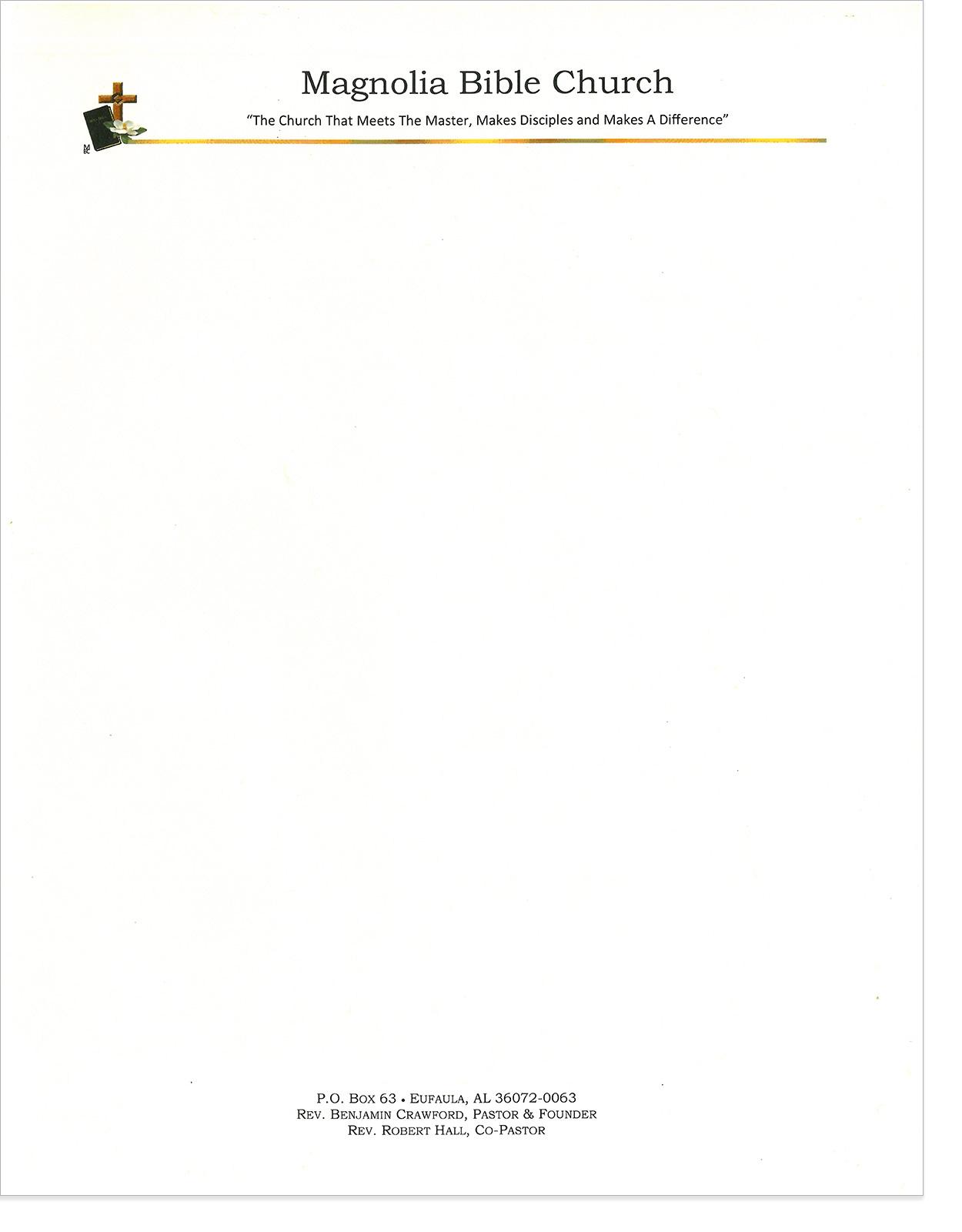 Pledge Card Templates For Churches