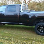 2016 Dodge Ram 3500 Moto Metal Mo995 Wheels Gloss Black Machined