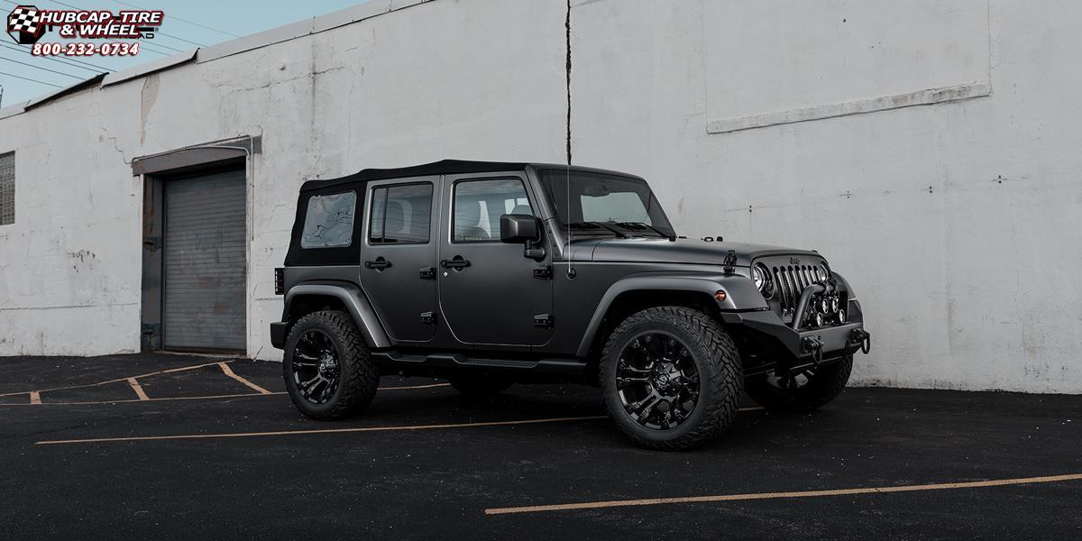 Black Jeep Wrangler 22 Inch Rims