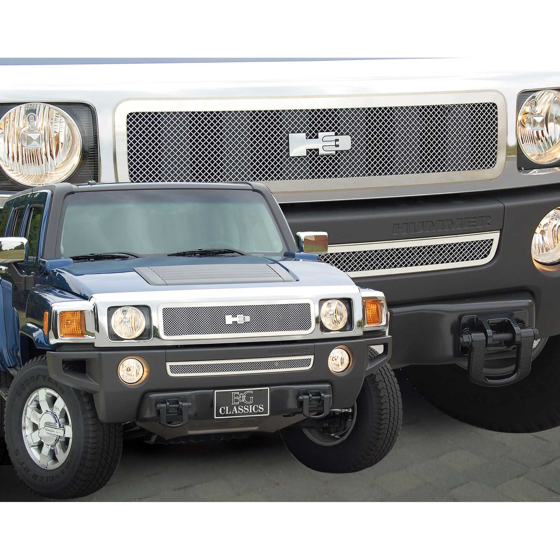 E&G Classics 2006 2009 Hummer H3 Grille Fine Mesh Grille 1355