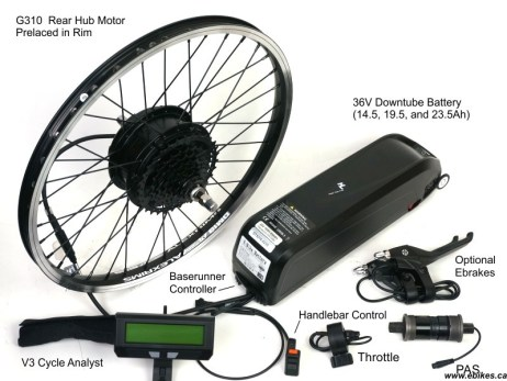 electric bike kit